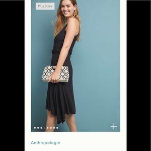 New Anthropologie Ribbed Kingsolver Dress Sz XS